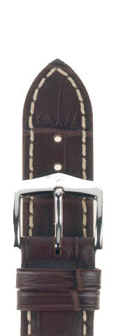 Hirsch Strap Modena Brown Large 20mm