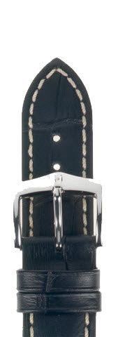 Hirsch Strap Modena Black Large 18mm