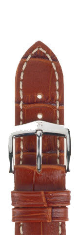 Hirsch Strap Modena Goldbrown Large 22mm
