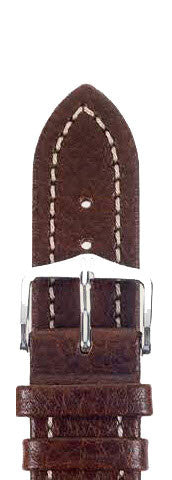 Hirsch Strap Buffalo Brown Large 22mm