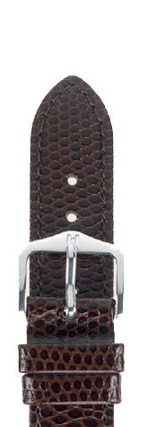 Hirsch Strap Rainbow Brown Medium 12mm