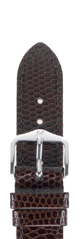 Hirsch Strap Rainbow Brown Medium 14mm
