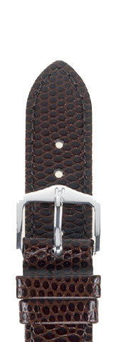 Hirsch Strap Rainbow Brown Large 18mm