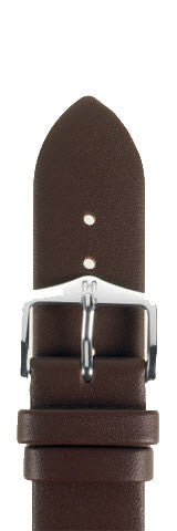 Hirsch Strap Italocalf Brown Medium 18mm