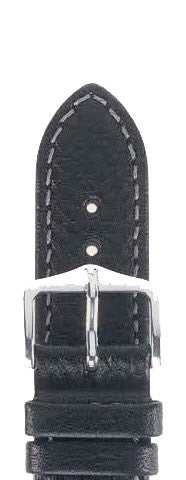 Hirsch Strap Forest Black Large 20mm