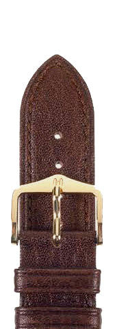 Hirsch Strap Camelgrain Brown Large 20mm