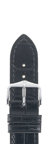 Hirsch Strap Duke Black Large 18mm
