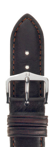 Hirsch Strap Merino Brown Large 22mm