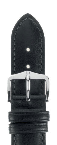 Hirsch Strap Merino Black Large 18mm