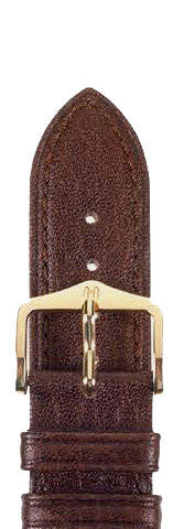 Hirsch Strap Ascot Brown Large 20mm