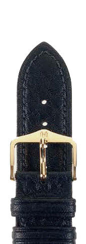 Hirsch Strap Ascot Black Large 20mm