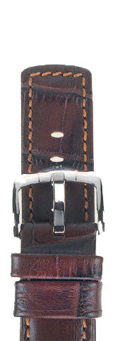 Hirsch Strap Grand Duke Brown Large 22mm