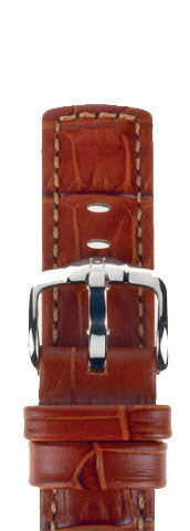 Hirsch Strap Grand Duke Goldbrown Large 20mm