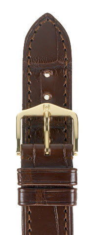 Hirsch Strap London Brown Large 18mm