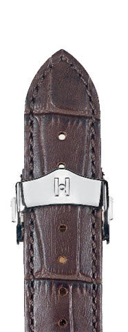 Hirsch Strap Lord Brown Large 18mm