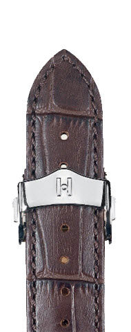 Hirsch Strap Lord Brown Large 22mm