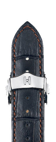 Hirsch Strap Lord Black Large 20mm