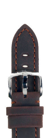 Hirsch Strap Terra Brown Large 20mm