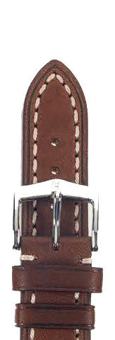 Hirsch Strap Liberty Brown Large 18mm