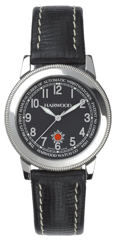Harwood Watch Black Leather