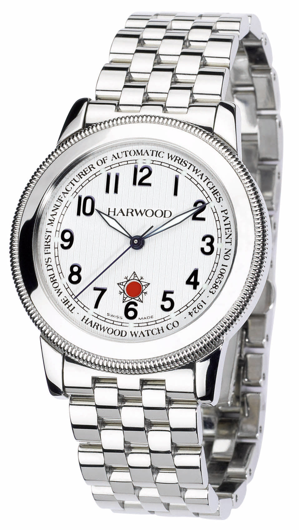 Harwood Watch Silver Opaline Bracelet