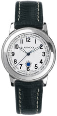 Harwood Watch Platinum Silver Opaline Leather Limited Edition