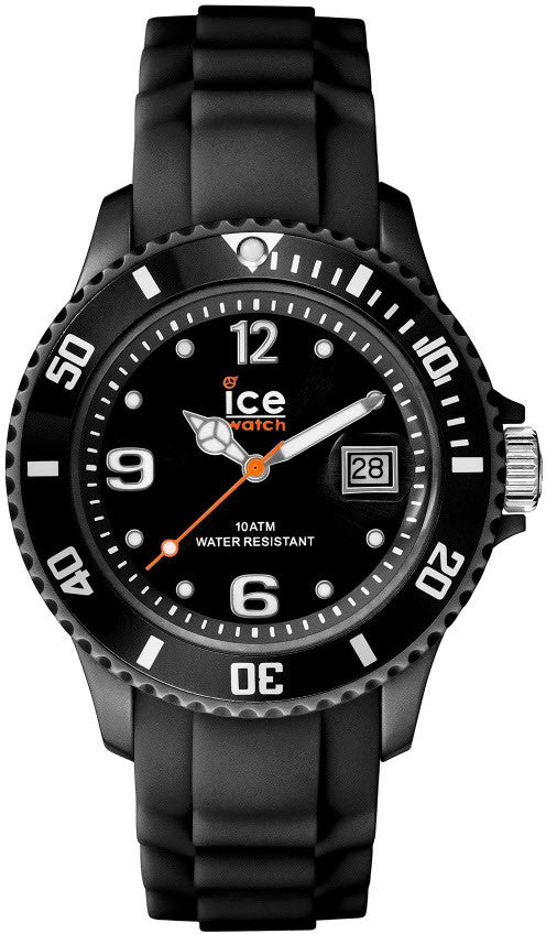 Ice Watch Ice-Sili Black Silicone