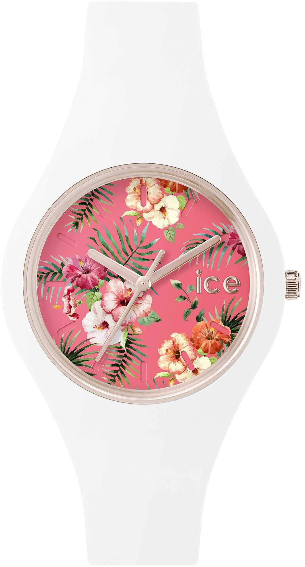 Ice Watch Flower Lunacy Pink White