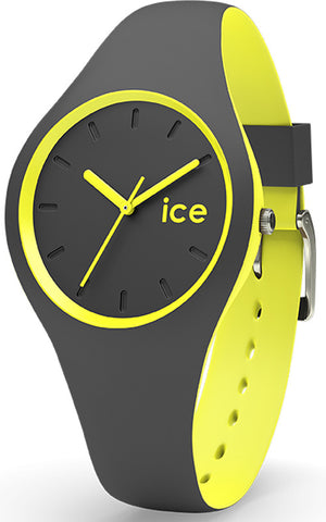 Ice Watch Ladies Small Duo Anthracite Yellow
