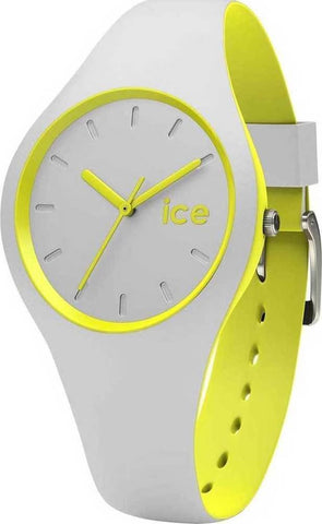 Ice Watch Ladies Small Duo Grey Yellow
