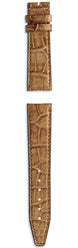 IWC Strap Aligator Marron Light Brown For Pin Buckle XXS IWE03389
