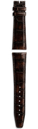 IWC Strap Aligator Dark Brown For Pin Buckle IWA54579