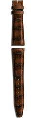 IWC Strap Aligator Marron Brown For Folding Clasp XL IWA54853