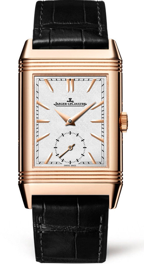 Jaeger Lecoultre Watch Reverso Tribute Duoface Pink Gold