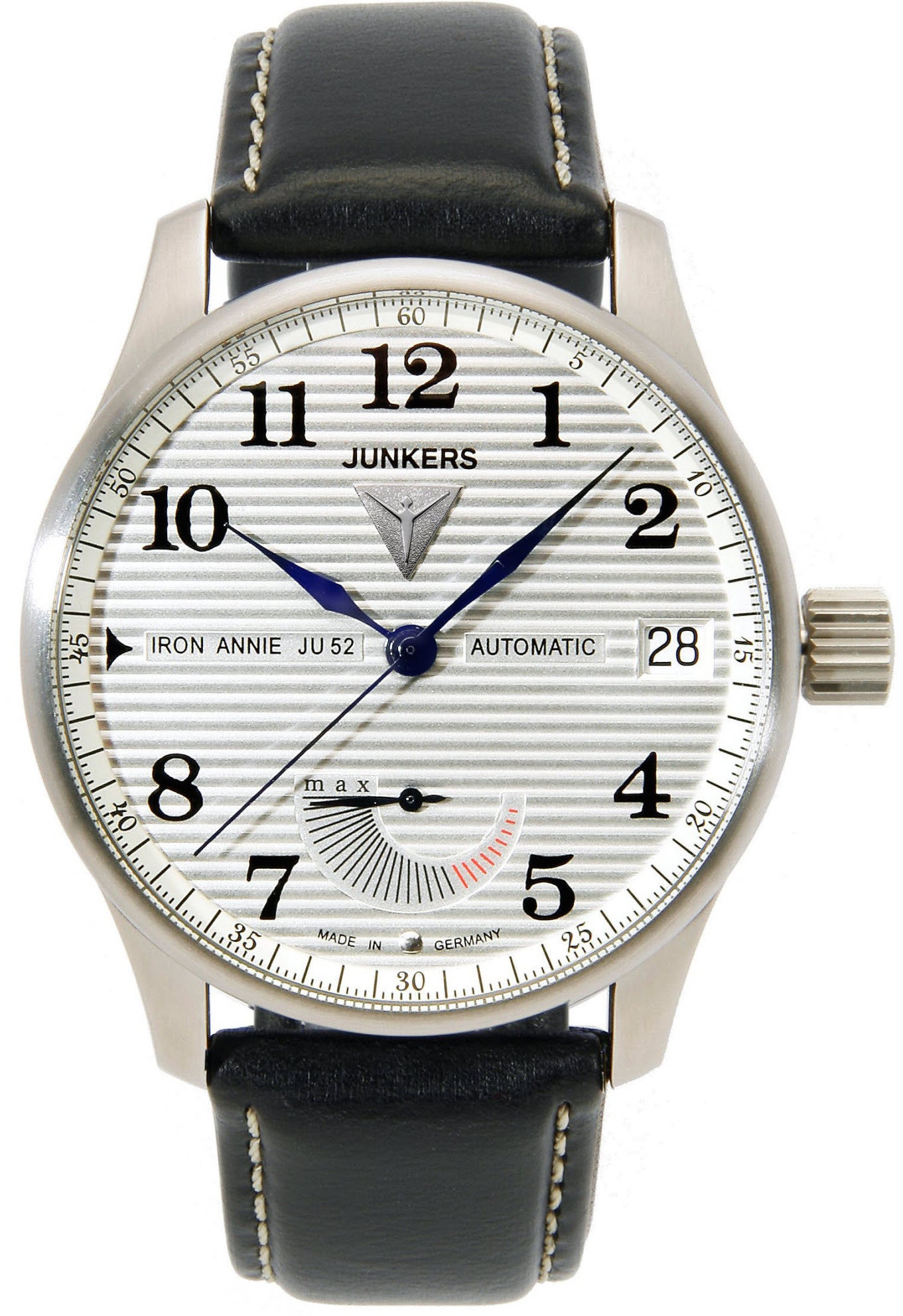 Junkers Watch Iron Annie JU52 Chronometer Glashuette