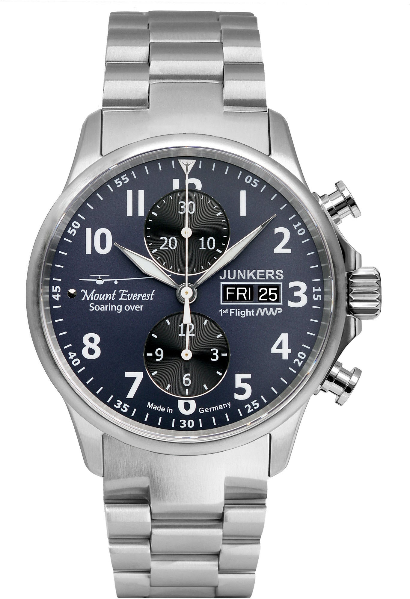 Junkers Watch Mountain Wave Project Mens 6824M3 Watch