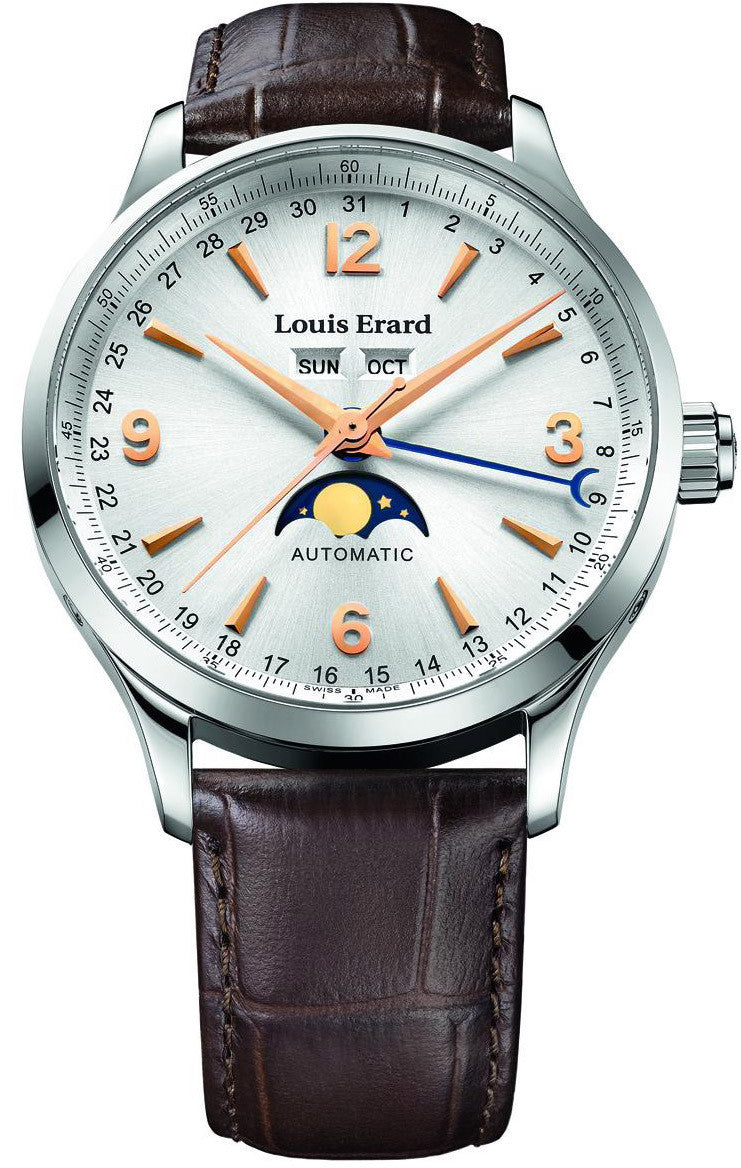 Louis Erard Watch 1931 Calendar Moonphase