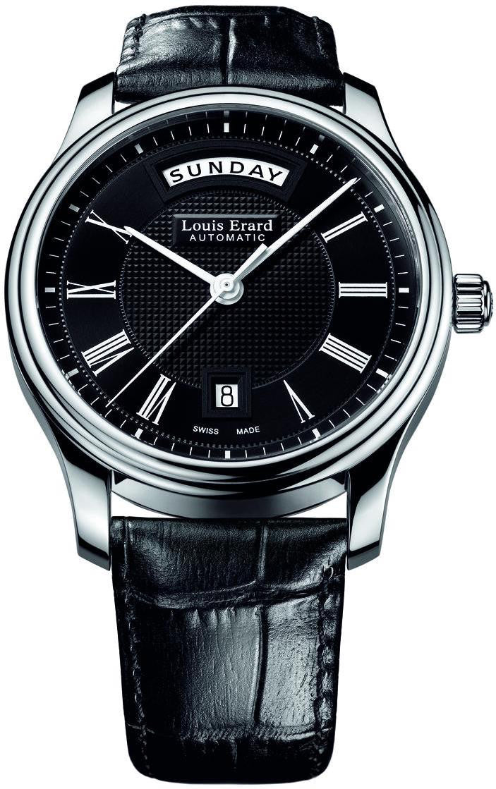 Louis Erard Watch Heritage Classic Day Date