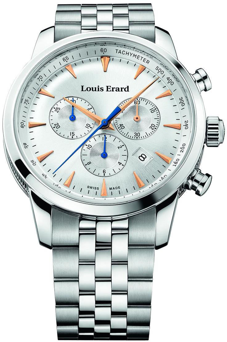 Louis Erard Watch Heritage Quartz Chrono