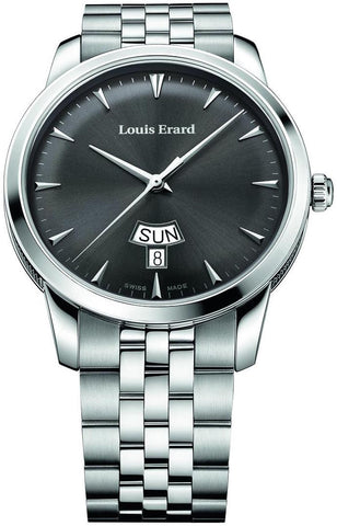 Louis Erard Watch Heritage Quartz Day Date