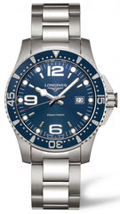 longines watches official longines uk stockist longines watch hydroconquest mens