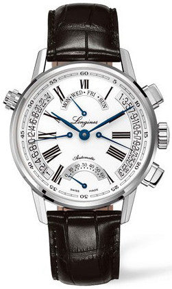 Longines Watch Heritage Retrograde Mens D