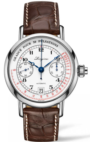 Longines Watch Column Wheel Pulsometer Chronograph