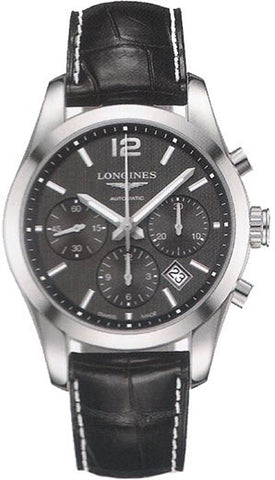 Longines Watch Column Wheel Chronograph Conquest Classic