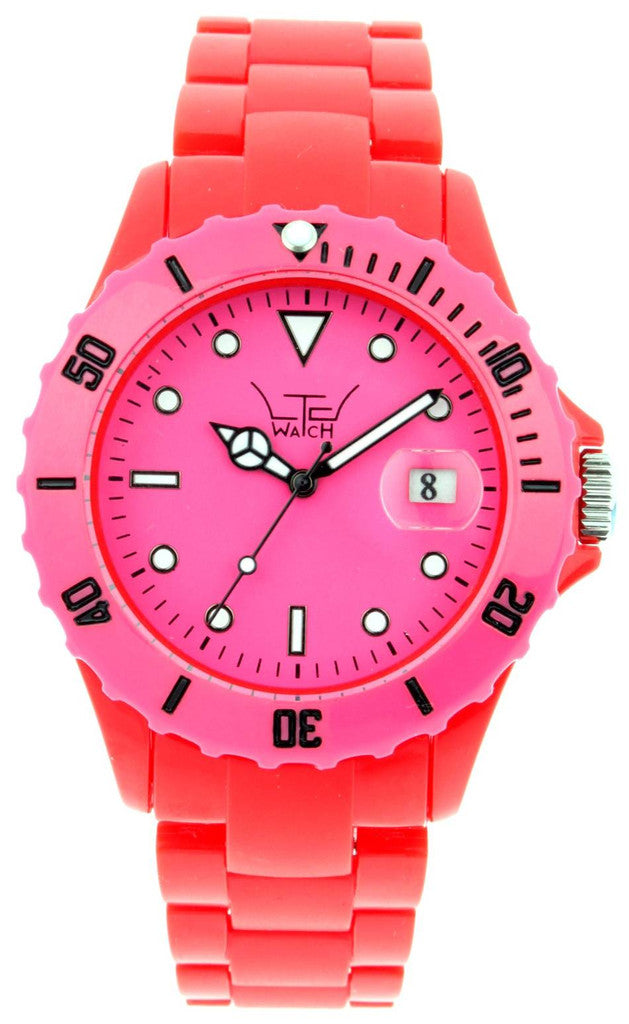 LTD Watches Red With Pink Dial D