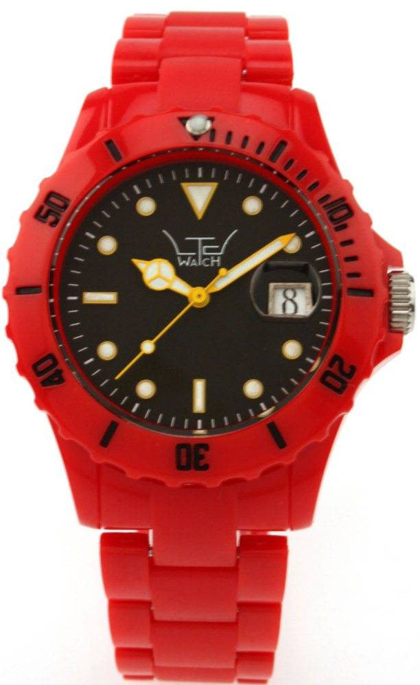 LTD Watches Red With Black Dial D
