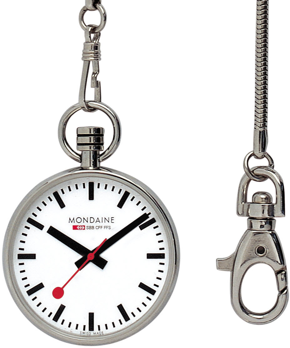 Mondaine Pocket Watch 4.3cm