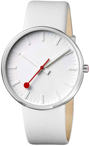 Mondaine Watch Giant White Limited Edition