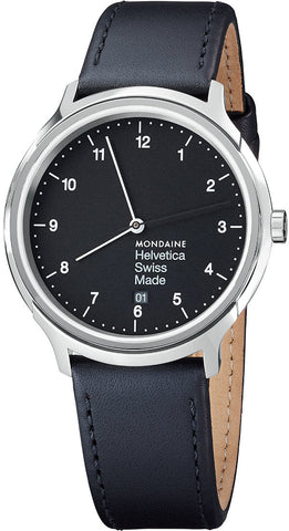 Mondaine Watch Helvetica No1 Regular 40