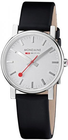 Mondaine Watch Evo Silver D
